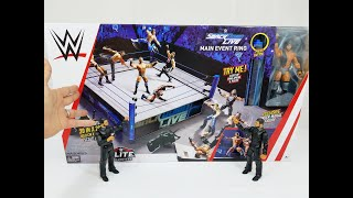 WWE SMACKDOWN RING PLAYSET WITH EXCLUSIVE JINDER MAHAL FIGURE REVIEW