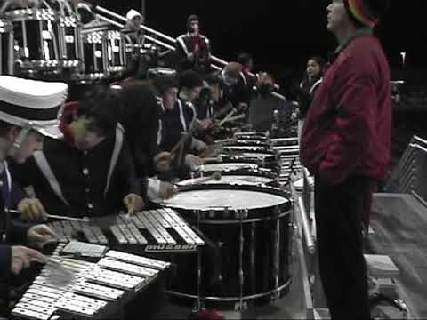 JOHN F KENNEDY CATHOLIC HIGH SCHOOL-BAND AT THE FINAL PLAYOFF GAME