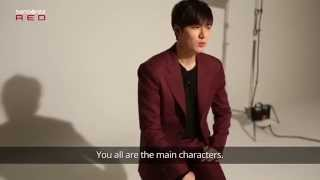 Samsonite RED Say Interview with Lee Min Ho