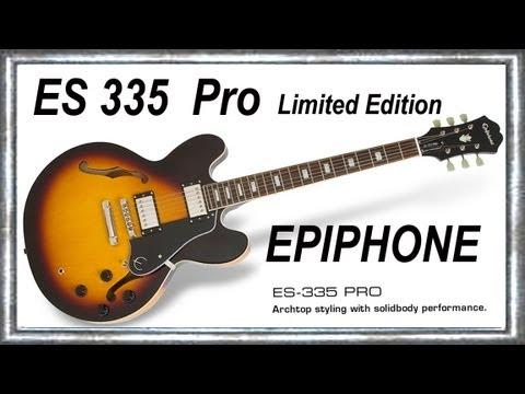 ES 335 PRO 2012 EPIPHONE Limited Edition  Improvisation BLUES Music Jean-Luc LACHENAUD.wmv