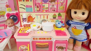 Baby doll kitchen and food toys Baby Doli play