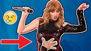 Why Taylor Swift has been Scared of Stalkers On Stage...