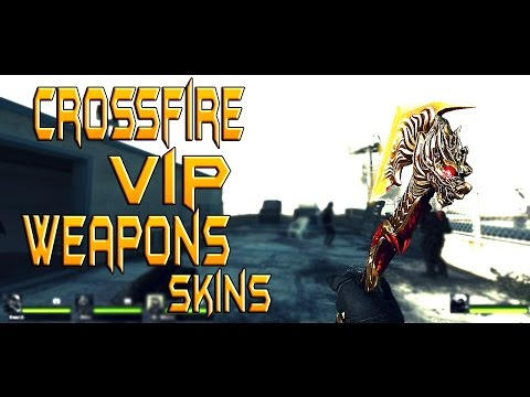 Left 4 Dead 2 - Crossfire VIP Weapons Skins
