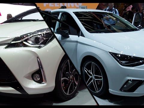 2017 Seat Ibiza vs. 2017 Toyota Yaris