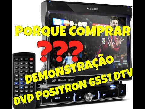 SOM AUTOMOTIVO DVD POSITRON SP6551 DTV
