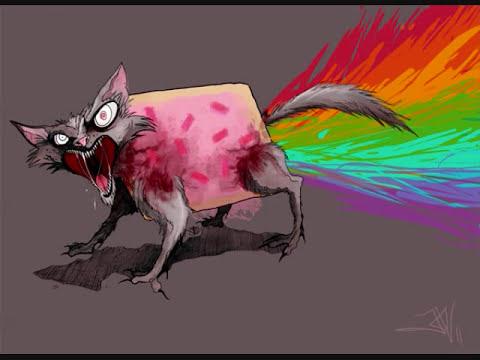 Creppypasta Nyan Cat