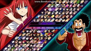 Legacy Mugen Anime Edition - Tag Team System Showcase & Game Download