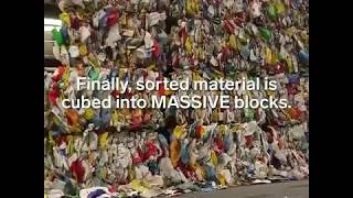 An NYC recycling facility sees more than 800 tons of material every day heres how they recycle it al
