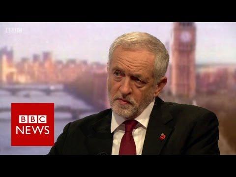 Jeremy Corbyn says Trump should 'grow up' - BBC News