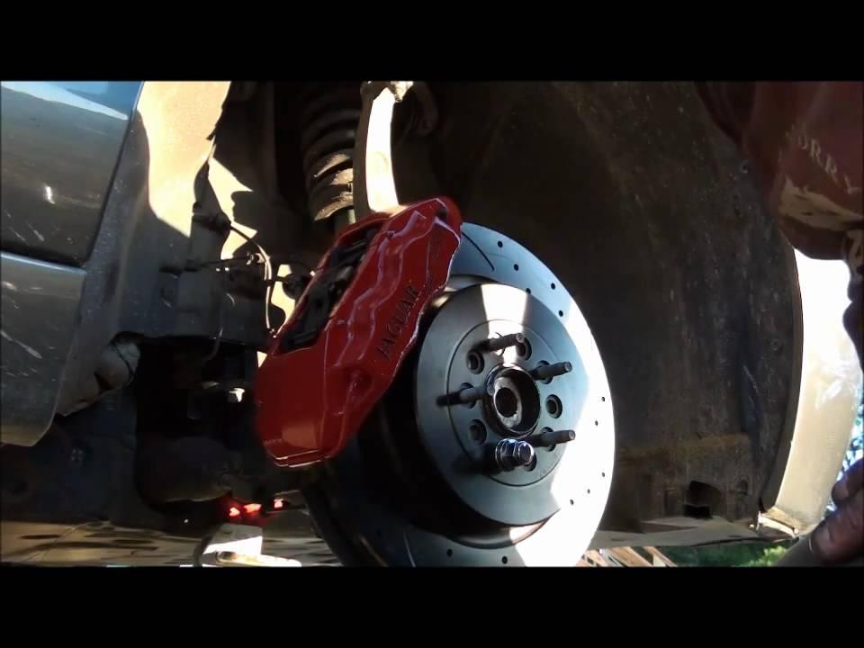Jaguar s Type r Brake Calliper Brake Job s Type r Part 2