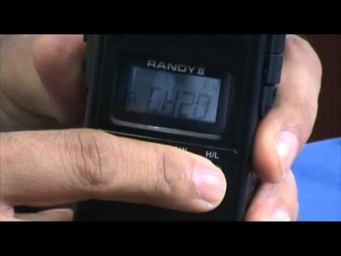 President Randy II CB radio (Part 1 of 2) - Handheld portable version
