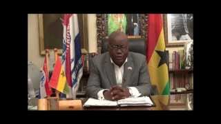 Nana Addo Asks For Your Vote