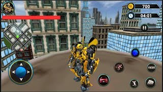 Grand Robot Car Transform 3D Game | Android Gameplay (Cartoon Games Network)
