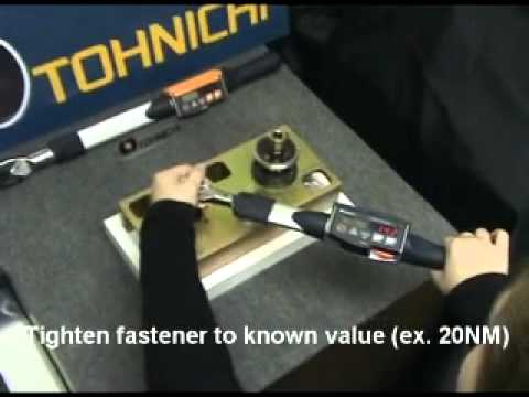 Tohnichi Model CTB2-G Digital Retightening Torque Wrench