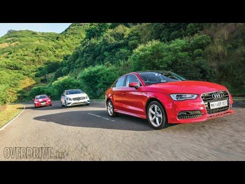 Audi A3 vs Mercedes-Benz A-Class vs BMW 1 series