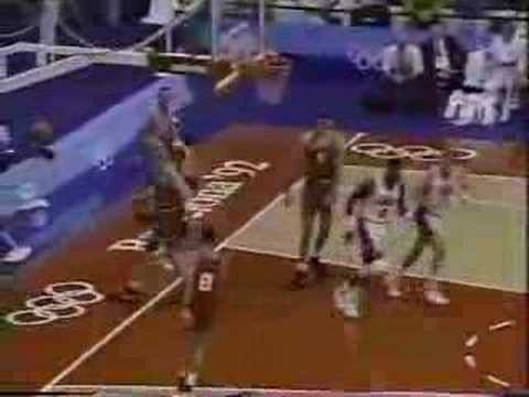 USA Dream Team v Croatia 1992 -- GOLD MEDAL GAME --