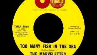 Watch Marvelettes Too Many Fish In The Sea video