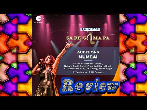 Zee Tv Sa Re Ga Ma Pa Mumbai Audition 2018   Reality