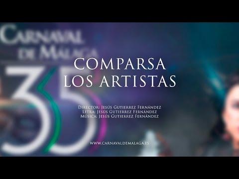 """Carnaval de Málaga 2015 - Comparsa """"Los artistas"""" Semifinales"""