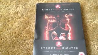 Street Fighter: Assassin's Fist. Blu Ray Steelbook Unboxing