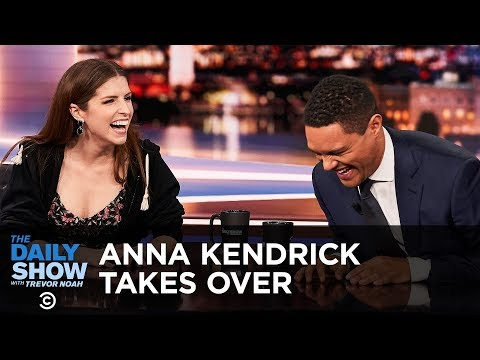 Anna Kendrick's Between the Scenes Takeover - Between the Scenes   The Daily Show