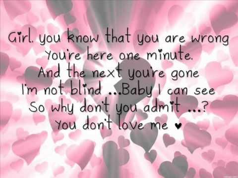 Kumbia Kings - You don't love me