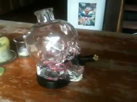 Crystal Skull Bong Crystal Head Skull Vodka