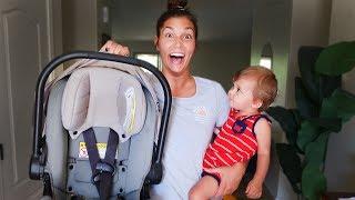 NO MORE BABY CAR SEATS!