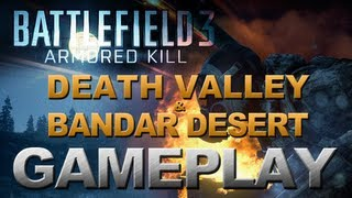 Battlefield 3 - Armored Kill - Conquest Gameplay - Death Valley & Bandar Desert (PC) 2560x1600