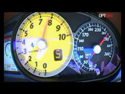 325 km/h en Ferrari 599 NovitecRosso (Option Auto)