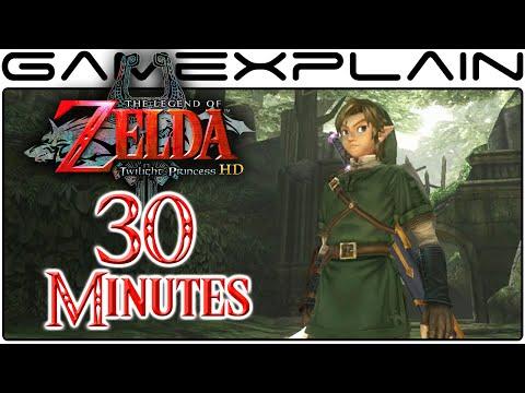 30 Minutes of Zelda: Twilight Princess HD Gameplay (1080p - Direct Feed)