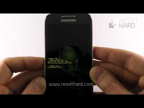Hard Reset Samsung Galaxy S4 Mini How-To