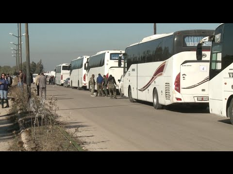 Nearly 300 Rebels Start Evacuating Last Stronghold in Homs