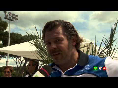 Policlinico Gemelli, Tennis and Friends – Intervista a Andrea Lo Cicero – www.HTO.tv