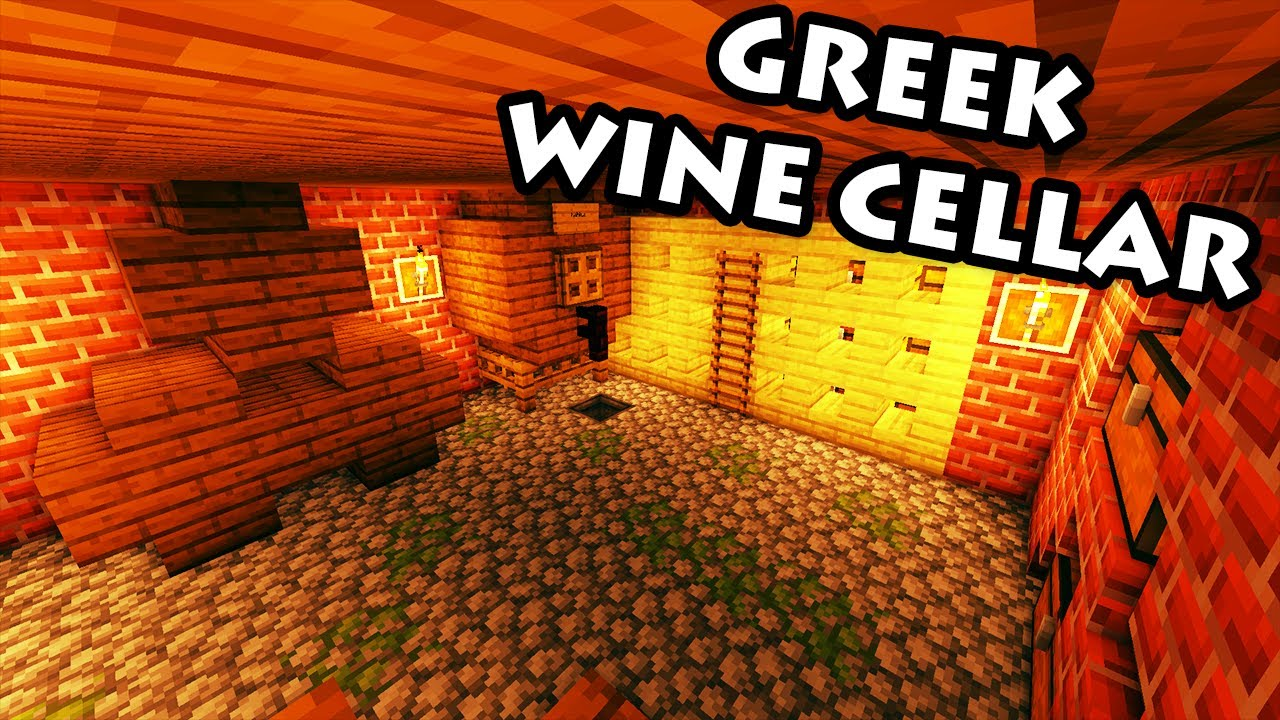 Minecraft Tutorial 33 Greek House How To Build A Wine