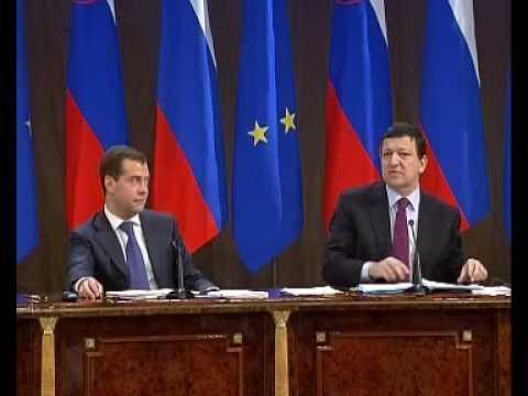 Д.Медведев.Совместная пресс-конференция.27.06.08.Part 3