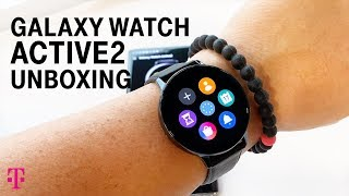 NEW Samsung Galaxy Watch Active2 Unboxing with Des | T-Mobile