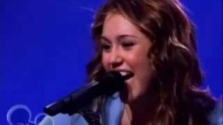 Клип Miley Cyrus - I Miss You (live)