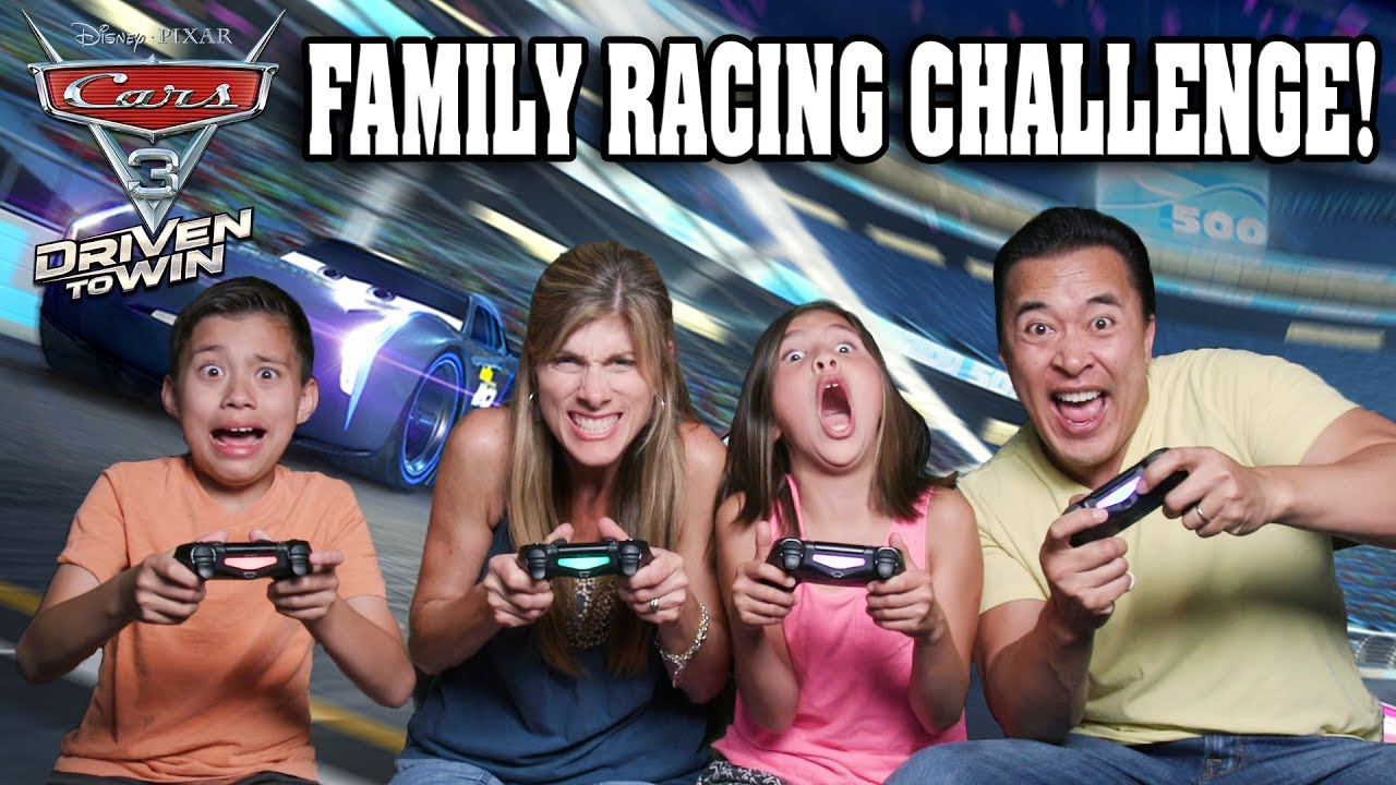 CARS 3: DRIVEN TO WIN!!! Family Racing Challenge!