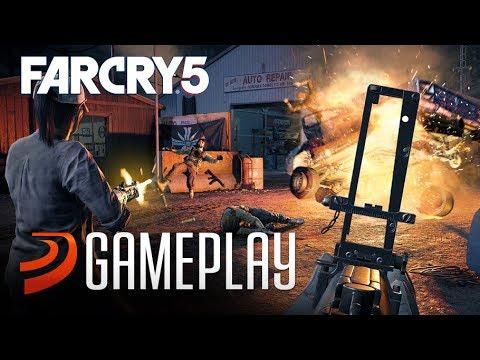 FAR CRY 5, 10 minutos de Gameplay nuevo