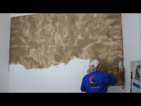Efeito m rmore suvinil mj pinturas ibowbow for Pintura decorativa efeito 3d