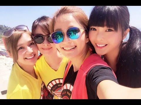 【我是水中腳龍】四個美女PK戰!! 【綜藝玩很大】