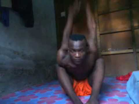 the  flex boy from zanzibar tanzania hussein yoga