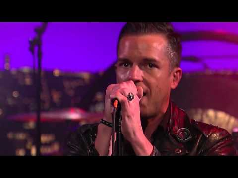 The Killers - Runaways  (Live on Letterman) HD
