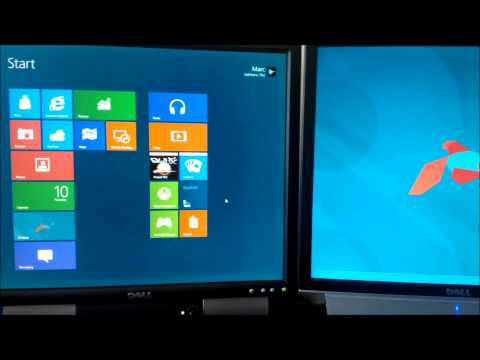 Windows 8 CP Multimonitor: charms + metro