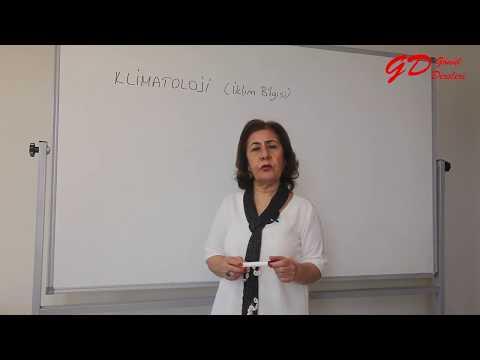 Gönül Dersleri | Coğrafya | KLİMATOLOJİ (İKLİM BİLGİSİ) |  Sema Hoca