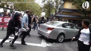 Portland driver at center of viral protest video says he just wanted to escape