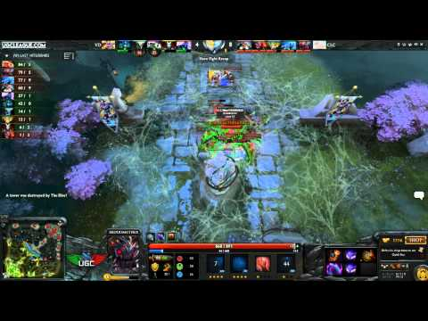 UGC Live! Western Invite Grand Finals! Bo5 - Cafe Lu Crew vs. Vacation Dampeer! w/ CptnCanuckDota