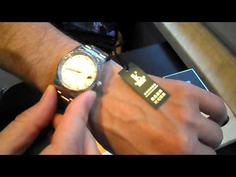 Genuine IK Coloring Stainless Steel Self Winding Water Proof Mechanical Wristwatch White