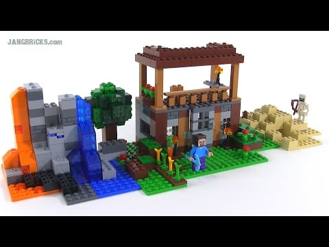 LEGO Minecraft:  Crafting Box *custom* build #1 of 1.000.000 (set 21116)